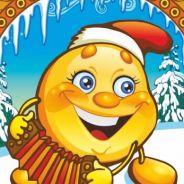 Новогодние приключения Колобка