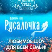 """Цирковое шоу """"Русалочка"""""""