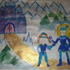 Алина Сергеевна Исмайлова в конкурсе «Новогодние приключения»