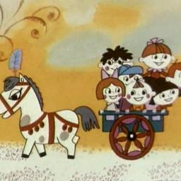 Пони бегает по кругу