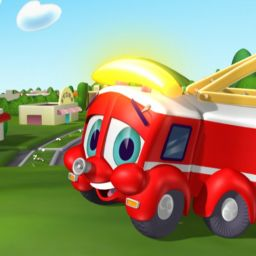 Финли— пожарная машина