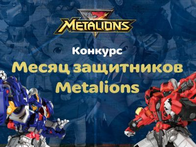 Объявлены победители конкурса «Месяц защитников METALIONS»!