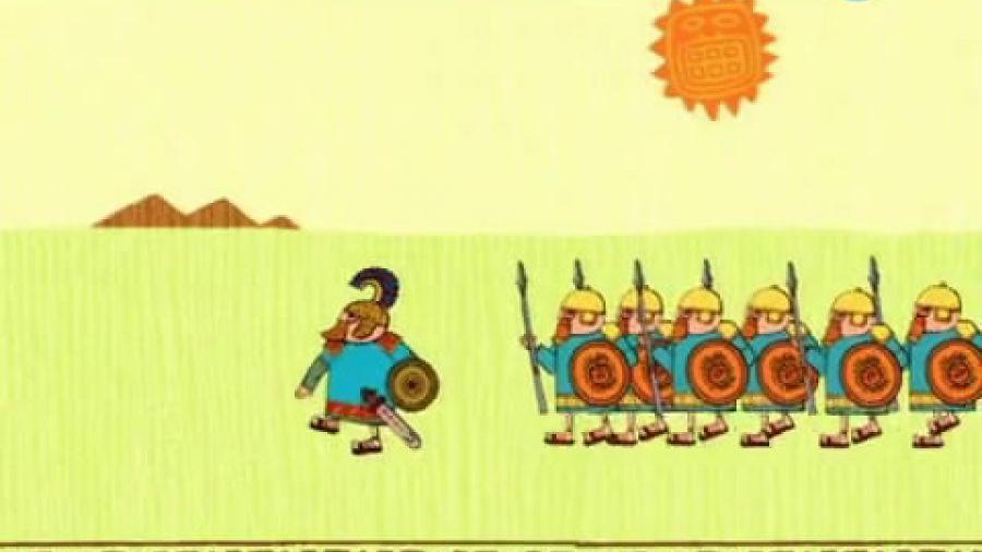 Смешные факты. Ассирийские воины