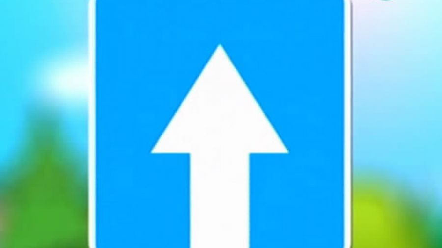 Знак «Дорога с односторонним движением»