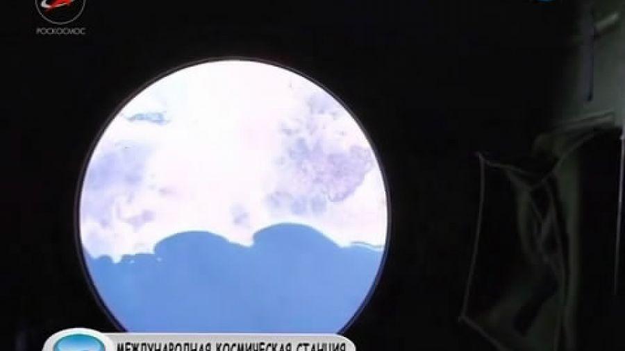 Вид Земли из всех иллюминаторов МКС
