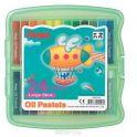 """Пастель масляная Pentel """"Oil Pastels"""", в цветном боксе, 24 цвета"""