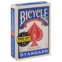 """Карты для фокусов Bicycle """"Blank Face"""", цвет: синий, 56 шт"""