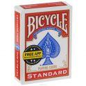 """Карты для фокусов Bicycle """"Blank Face"""", цвет: красный, 56 шт"""