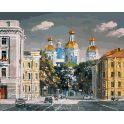 """Живопись на холсте Белоснежка """"Театральная площадь"""", 40 х 50 см"""