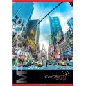 ACTION! Тетрадь Нью-Йорк Мегаполис в клетку 80 листов