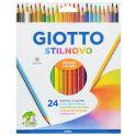 Giotto Набор цветных карандашей Stilnovo 24 цвета