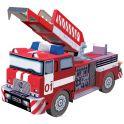 Умная бумага 3D пазл Пожарная машина