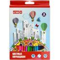 Action! Набор цветных карандашей 18 цветов