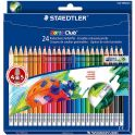 Staedtler Набор цветных карандашей Noris Club 24 шт