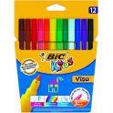 Bic Фломастеры Visa 12 цветов