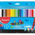 Maped Набор фломастеров Colorpeps Ocean 18 цветов