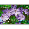 Апплика Альбом для рисования Фиолетовые цветы 40 листов