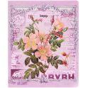 Феникс+ Тетрадь Красивые цветы 48 листов в клетку