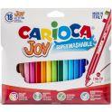 Carioca Набор фломастеров Joy 18 цветов