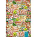 Канц-Эксмо Записная книжка Графика Красочный город в клетку 80 листов формат А5-
