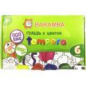 Baramba Гуашь Темпера 6 цветов