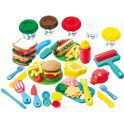 Playgo Набор для лепки Dough Гамбургер