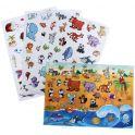 Лас Играс Игра с наклейками Любимые животные