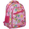 Рюкзак детский Мир цвет розовый 2297473