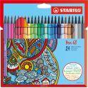 STABILO Набор фломастеров Pen 68 24 цвета