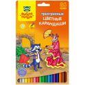 Мульти-Пульти Набор цветных карандашей Енот в Испании трехгранные 36 цветов