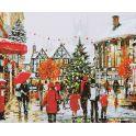 "Картина по номерам Школа талантов ""Рождество в Европе"", 1387441, 30 х 40 см"