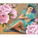 "Картина по номерам Школа талантов ""Балерина"", 2711896, 40 х 50 см"