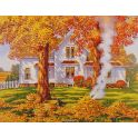 """Картина по номерам Школа талантов """"Осень золотая"""", 3462668, 30 х 40 см"""