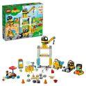 LEGO DUPLO Town 10933 Конструктор ЛЕГО ДУПЛО Башенный кран на стройке