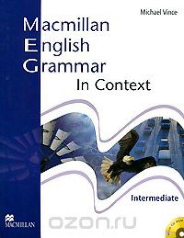 Macmillan English Grammar in Context: Intermediate Level (+ CD-ROM)