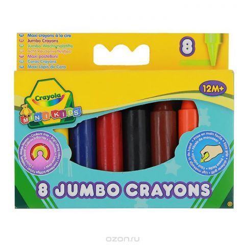"""Восковые мелки Crayola """"Для самых маленьких"""", 8 цветов"""