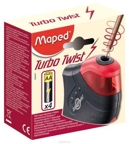 """Точилка электрическая Maped """"Турбо Твист"""", 1 отверстие, с контейнером"""