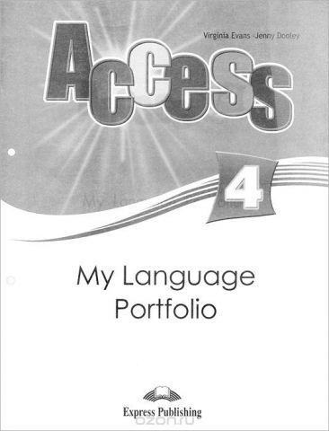 Access 4: My Language Portfolio