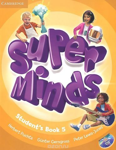 Super Minds: Level 5: Student's Book (+ DVD-ROM)