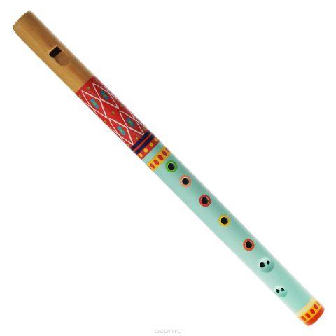 """Djeco Флейта """"Animambo"""", цвет: бирюзовый, красный"""