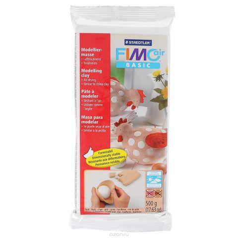 """Полимерная глина Fimo """"Air Basic"""", цвет: телесный, 500 г"""