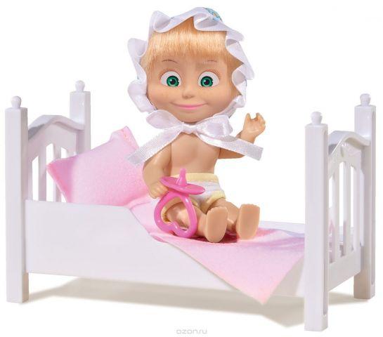 Simba Игровой набор Маша с кроваткой