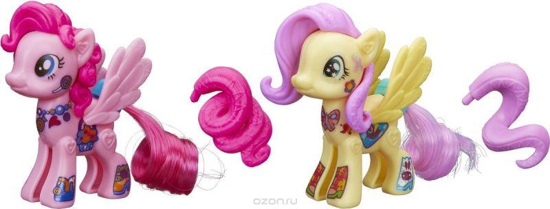 My Little Pony Набор фигурок Создай свою пони Флаттершай и Пинки Пай