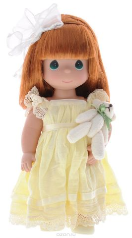 Precious Moments Кукла Люби меня цвет волос рыжий