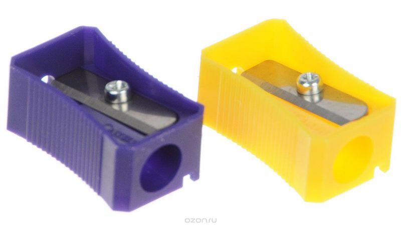 Faber-Castell Точилка цвет фиолетовый желтый 2 шт