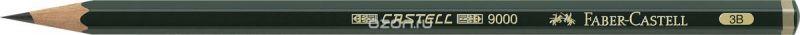 Faber-Castell Карандаш чернографитный Castell 9000 твердость 3B
