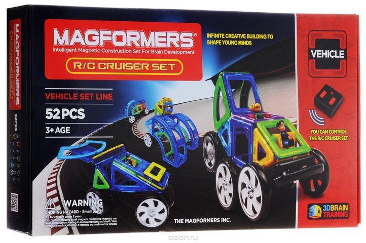 Magformers Магнитный конструктор Cruiser Set