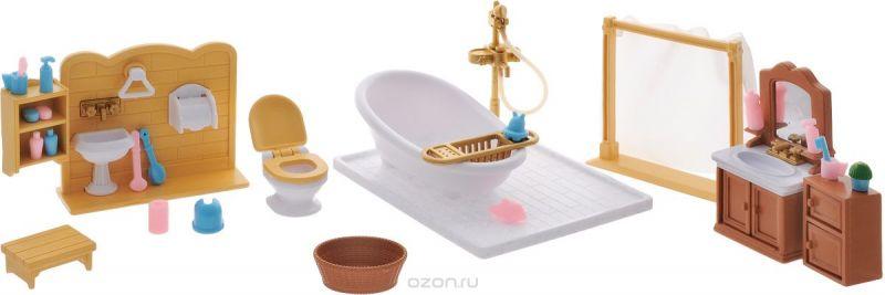 ABtoys Набор мебели для ванной комнаты Счастливые друзья
