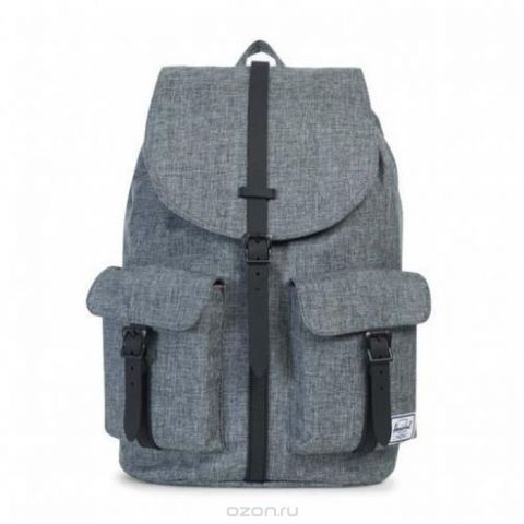 "Рюкзак городской Herschel ""Dawson Raven Crosshatch Black"", 20,5 л"