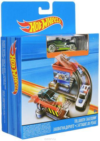 Hot Wheels Игрушечный трек Захват на дороге